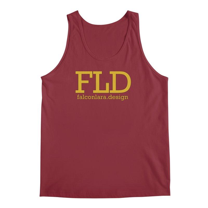 FLD logo defined Men's Regular Tank by falconlara.design shop