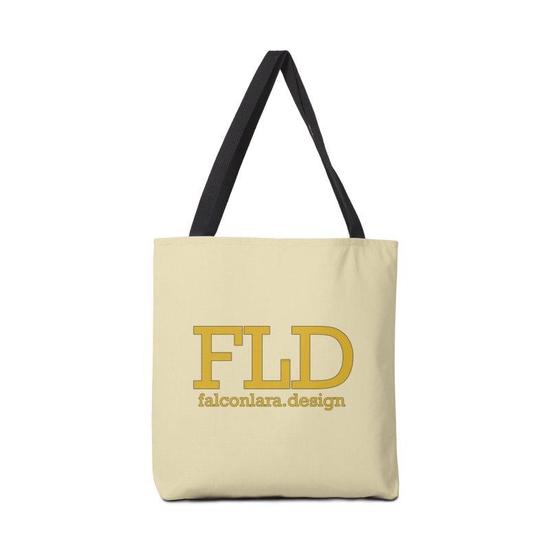 FLD logo defined Accessories Bag by falconlara.design shop