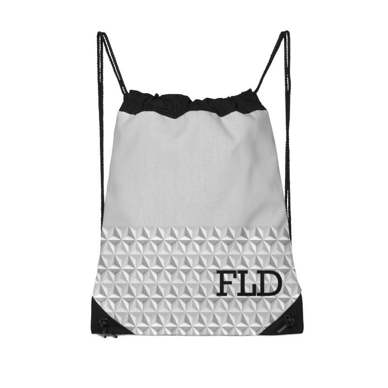 Geometric One Accessories Drawstring Bag Bag by falconlara.design shop