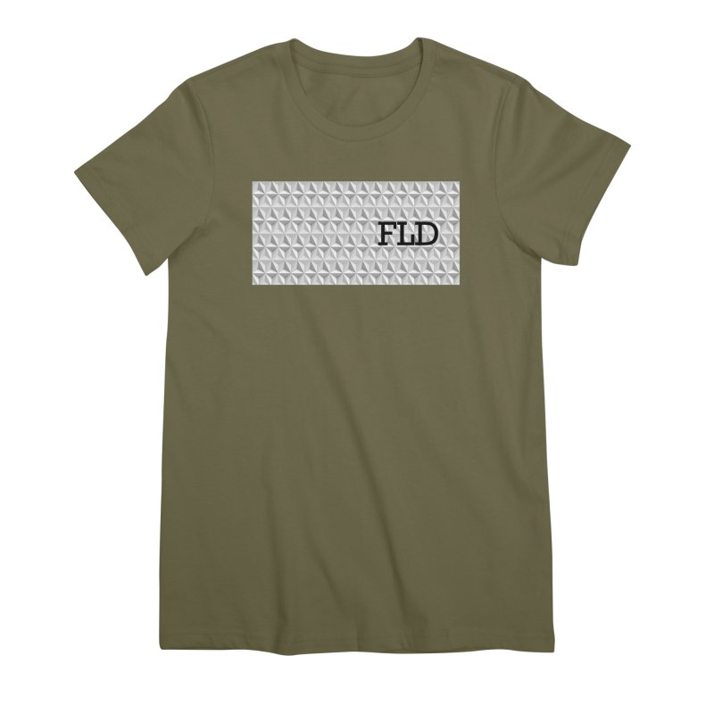 Geometric One Women's Premium T-Shirt by falconlara.design shop