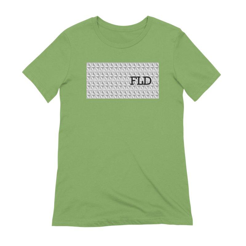Geometric One Women's Extra Soft T-Shirt by falconlara.design shop