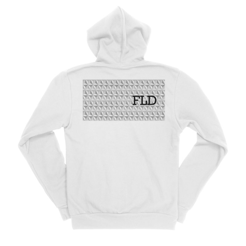 Geometric One Women's Sponge Fleece Zip-Up Hoody by falconlara.design shop