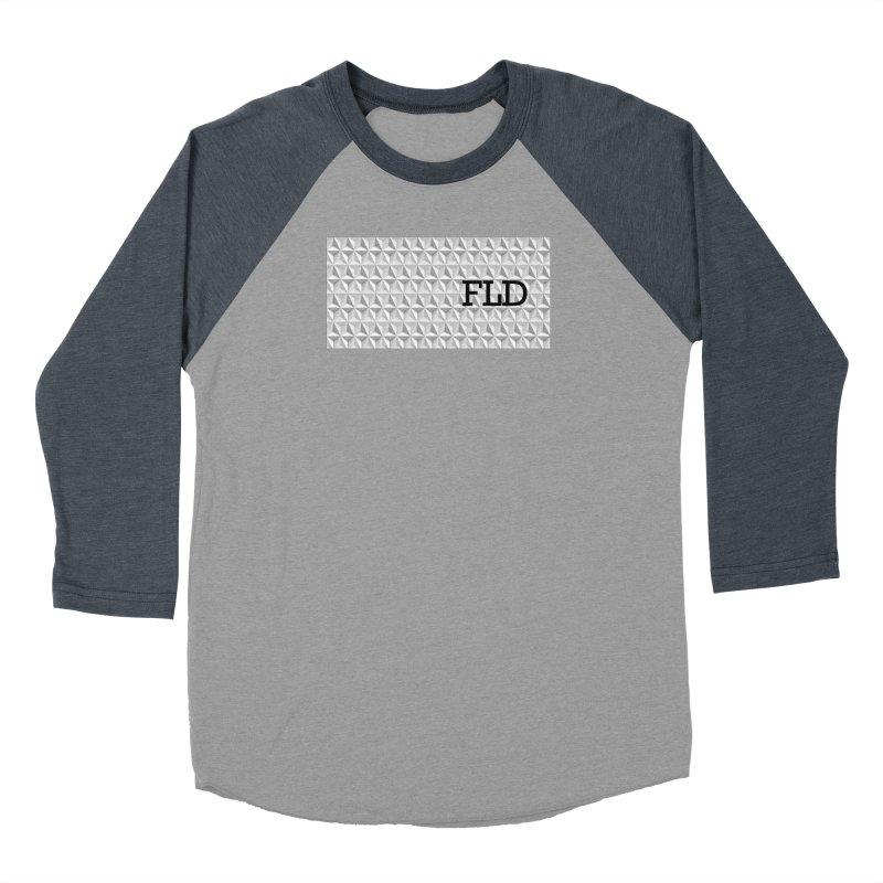 Geometric One Men's Baseball Triblend Longsleeve T-Shirt by falconlara.design shop