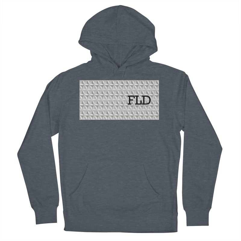 Geometric One Men's French Terry Pullover Hoody by falconlara.design shop