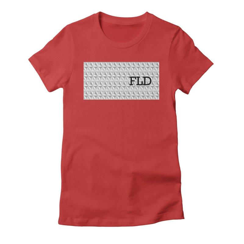 Geometric One Women's Fitted T-Shirt by falconlara.design shop