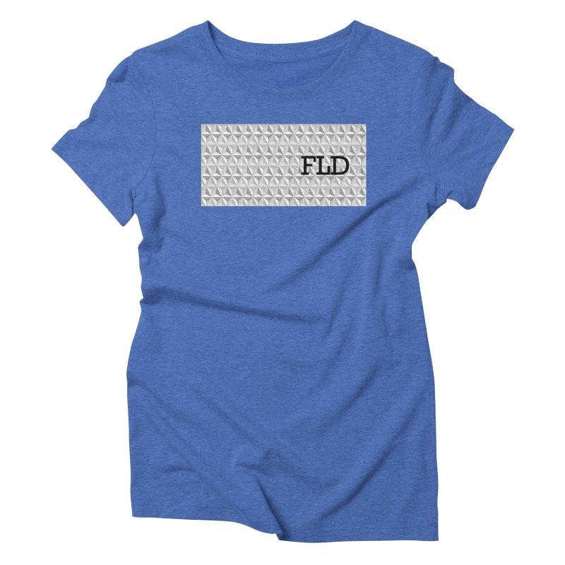 Geometric One Women's Triblend T-Shirt by falconlara.design shop