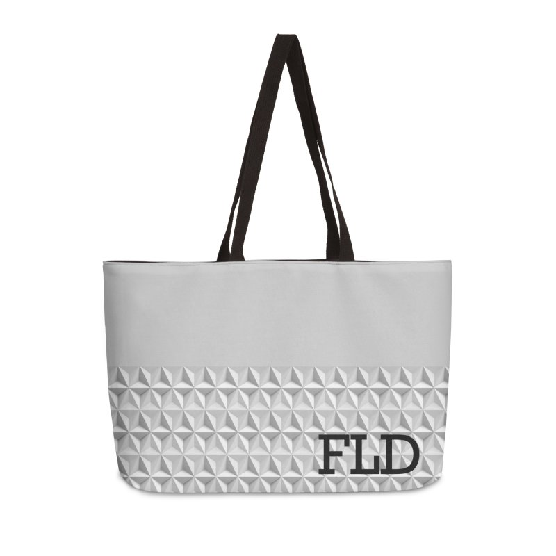 Geometric One Accessories Weekender Bag Bag by falconlara.design shop