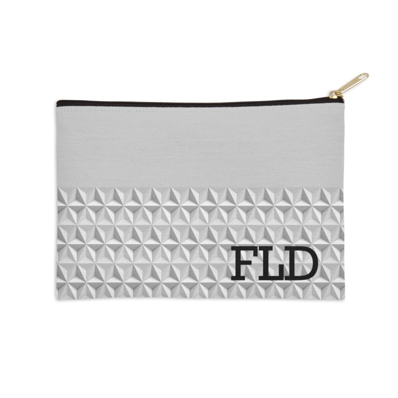 Geometric One Accessories Zip Pouch by falconlara.design shop