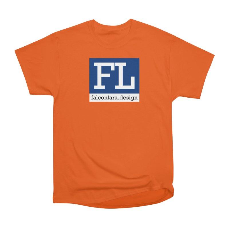 FL Design Blue Logo Women's T-Shirt by falconlara.design shop