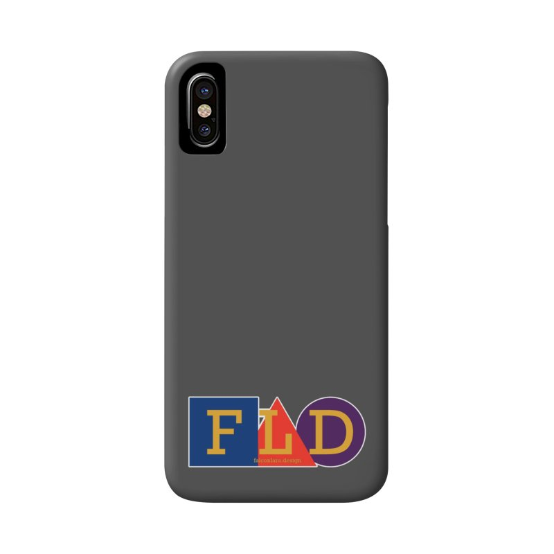 Basic Shapes Logo Accessories Phone Case by falconlara.design shop