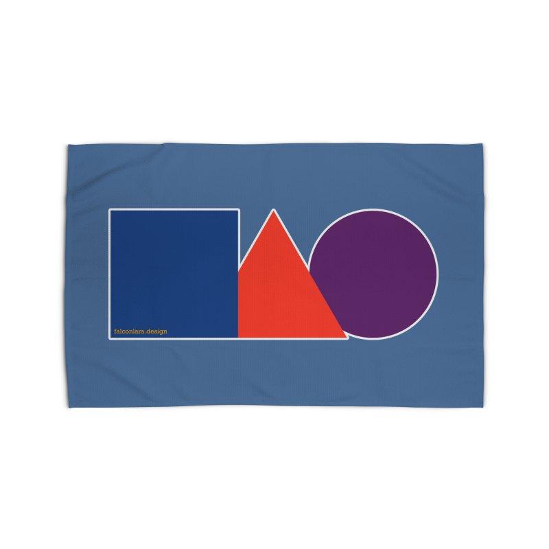 Basic Shapes Logo Home Rug by falconlara.design shop
