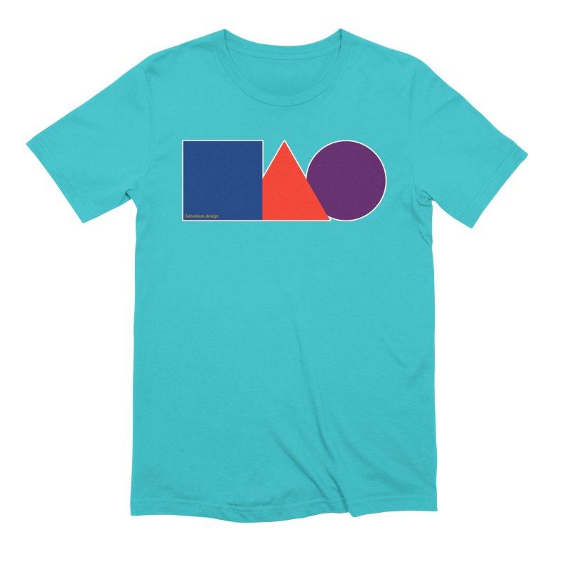 Basic Shapes Logo Men's Extra Soft T-Shirt by falconlara.design shop