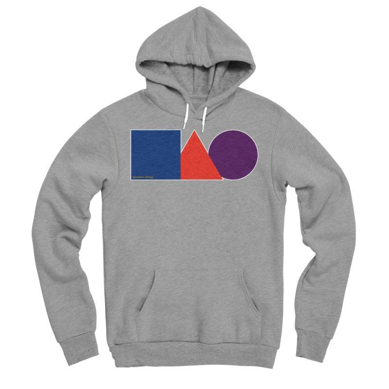 Basic Shapes Logo Men's Sponge Fleece Pullover Hoody by falconlara.design shop