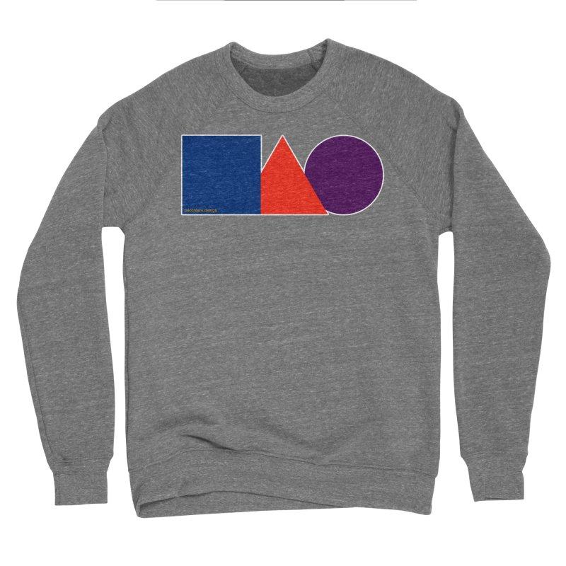 Basic Shapes Logo Men's Sponge Fleece Sweatshirt by falconlara.design shop