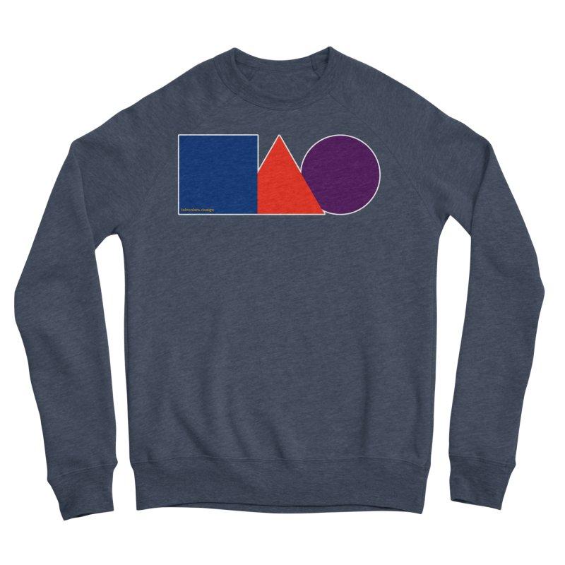 Basic Shapes Logo Women's Sponge Fleece Sweatshirt by falconlara.design shop
