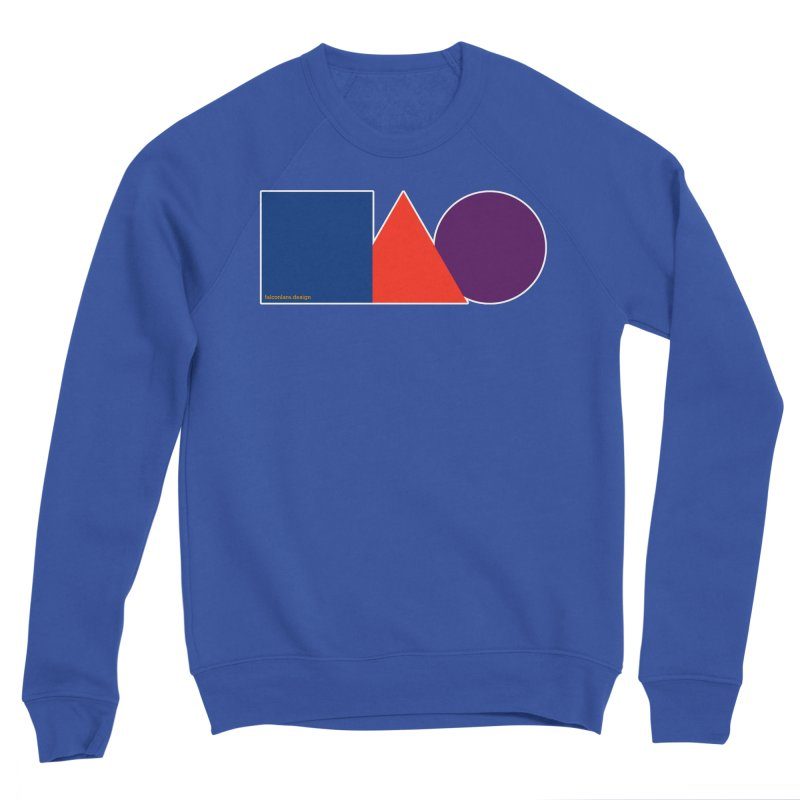 Basic Shapes Logo Men's Sweatshirt by falconlara.design shop
