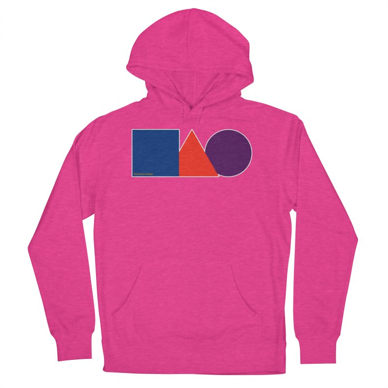 Basic Shapes Logo Women's French Terry Pullover Hoody by falconlara.design shop