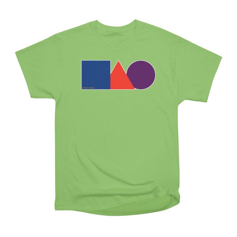 Basic Shapes Logo Women's Heavyweight Unisex T-Shirt by falconlara.design shop