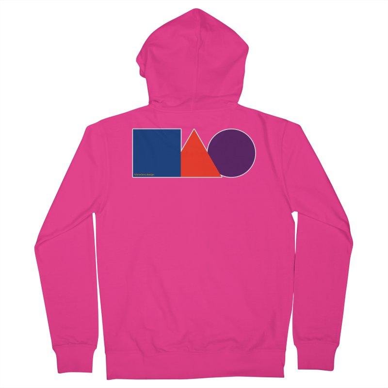 Basic Shapes Logo Men's French Terry Zip-Up Hoody by falconlara.design shop