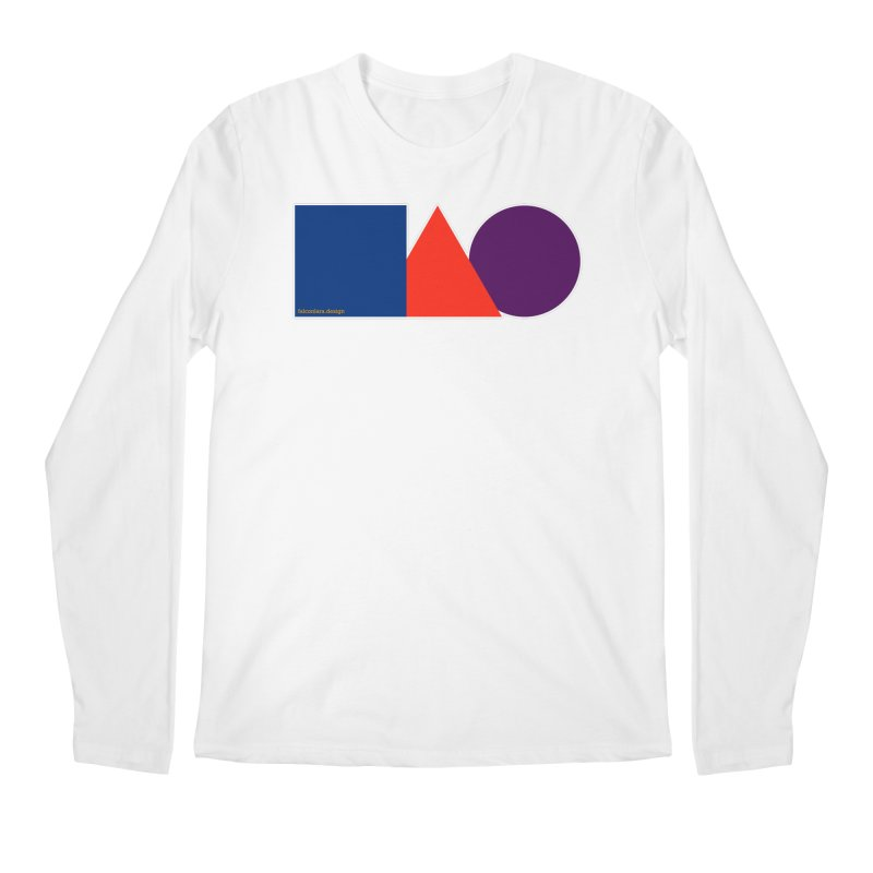 Basic Shapes Logo Men's Regular Longsleeve T-Shirt by falconlara.design shop