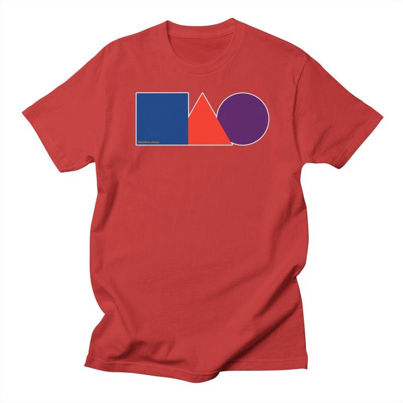 Basic Shapes Logo Men's Regular T-Shirt by falconlara.design shop