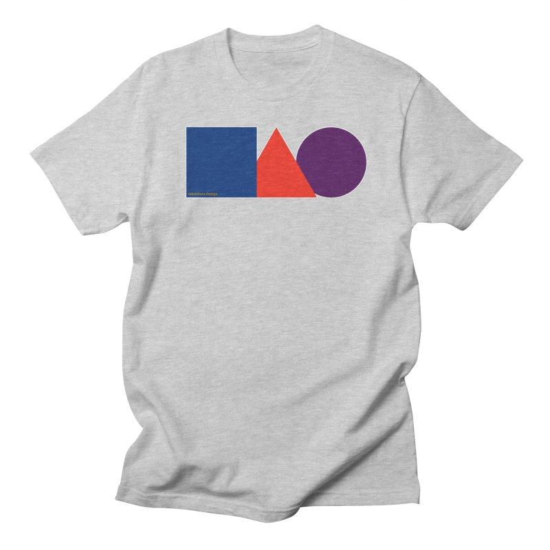 Basic Shapes Logo Women's Regular Unisex T-Shirt by falconlara.design shop