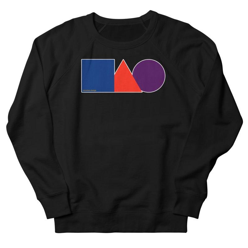Basic Shapes Logo Women's French Terry Sweatshirt by falconlara.design shop