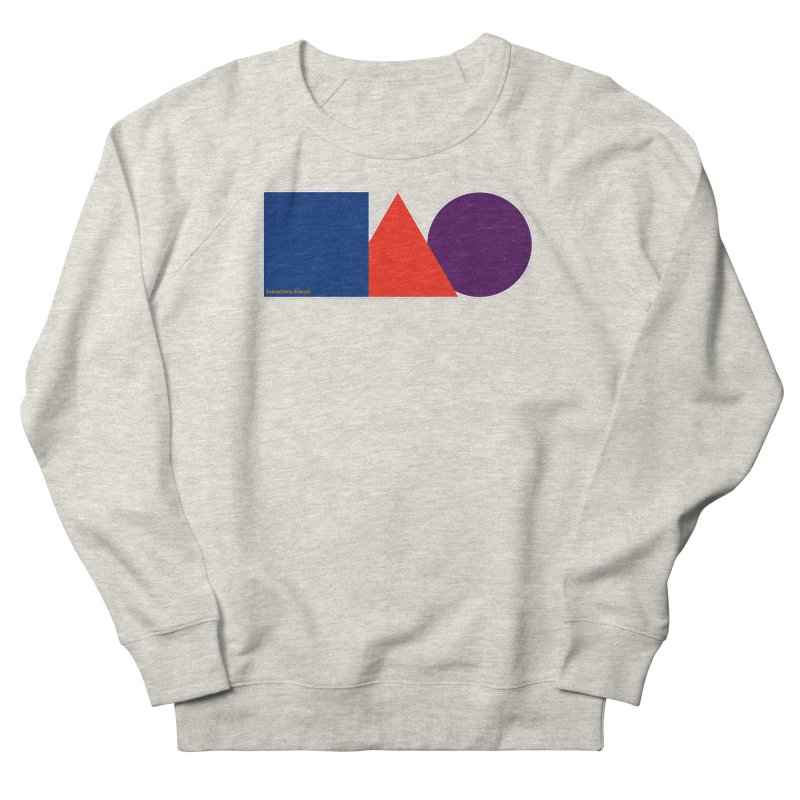 Basic Shapes Logo Women's French Terry Sweatshirt by falconlara.design shop
