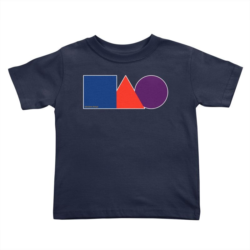 Basic Shapes Logo Kids Toddler T-Shirt by falconlara.design shop