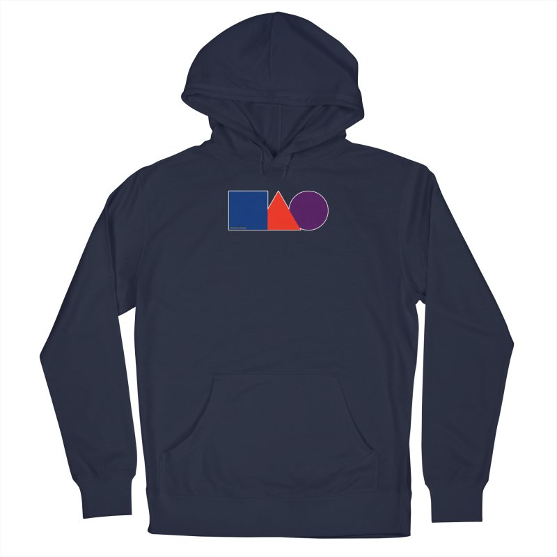 Basic Shapes Logo Men's Pullover Hoody by falconlara.design shop
