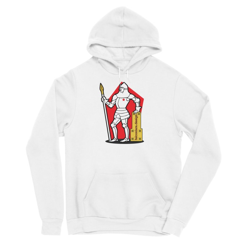 The Design Knight Women's Sponge Fleece Pullover Hoody by falconlara.design shop