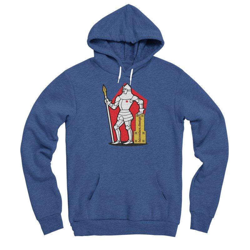 The Design Knight Men's Sponge Fleece Pullover Hoody by falconlara.design shop