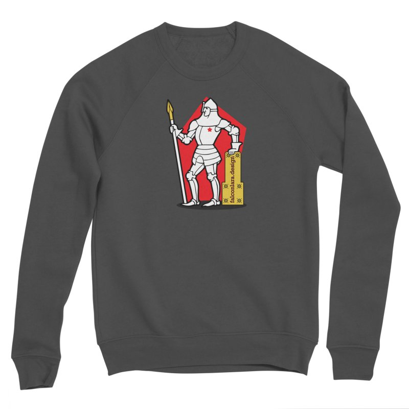The Design Knight Men's Sponge Fleece Sweatshirt by falconlara.design shop