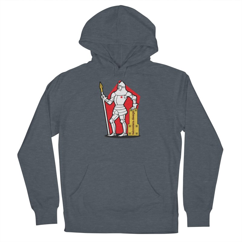The Design Knight Women's French Terry Pullover Hoody by falconlara.design shop