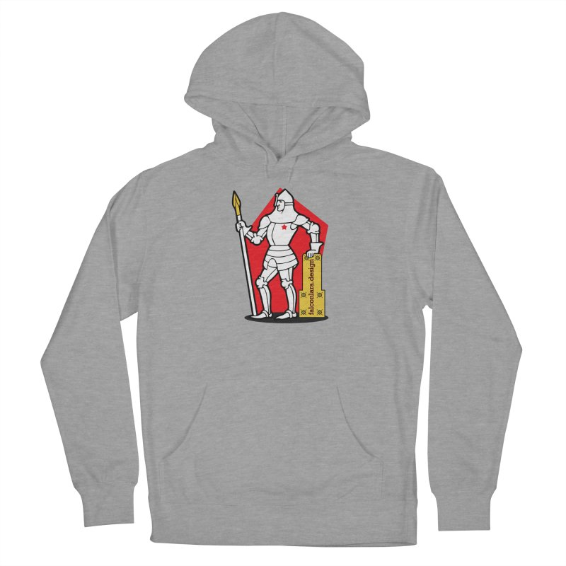 The Design Knight Men's French Terry Pullover Hoody by falconlara.design shop