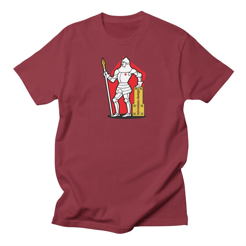 The Design Knight Men's Regular T-Shirt by falconlara.design shop