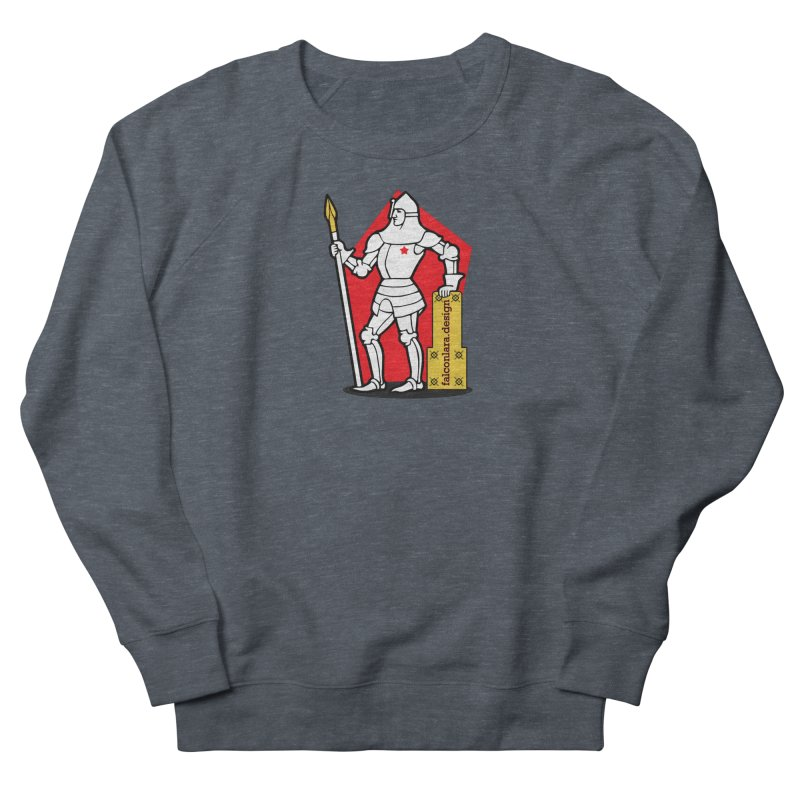 The Design Knight Women's French Terry Sweatshirt by falconlara.design shop