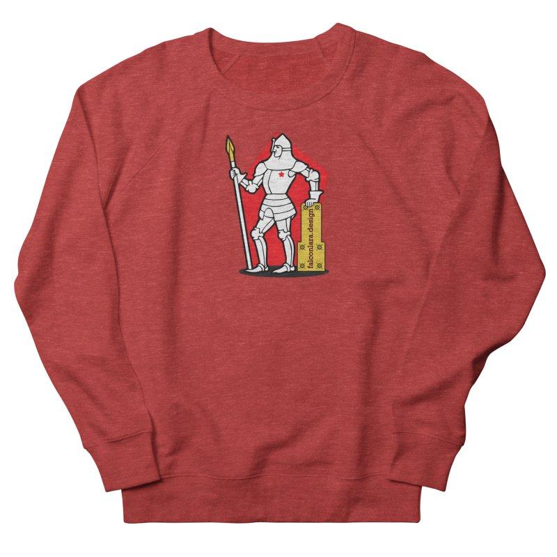 The Design Knight Men's French Terry Sweatshirt by falconlara.design shop