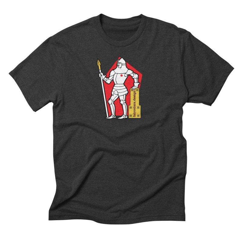 The Design Knight Men's Triblend T-Shirt by falconlara.design shop