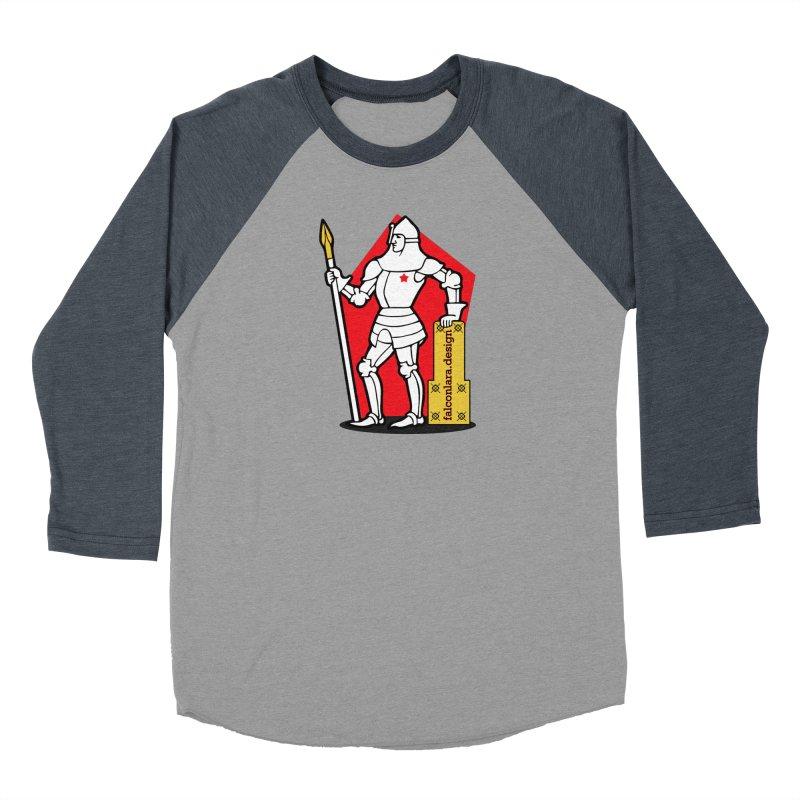 The Design Knight Men's Baseball Triblend Longsleeve T-Shirt by falconlara.design shop