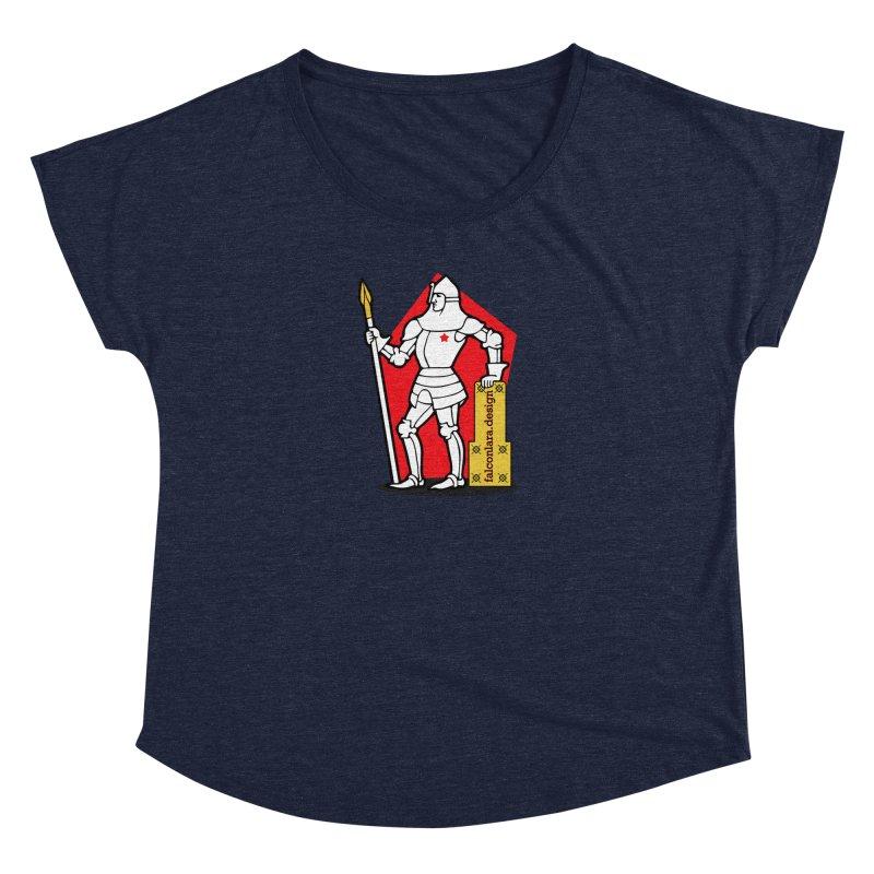 The Design Knight Women's Dolman Scoop Neck by falconlara.design shop