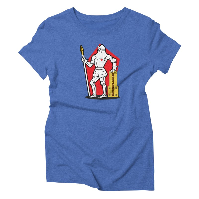 The Design Knight Women's Triblend T-Shirt by falconlara.design shop