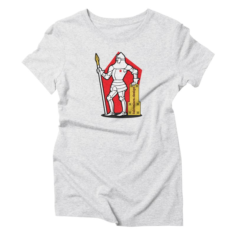 The Design Knight Women's Triblend T-Shirt by falconlara.design shop