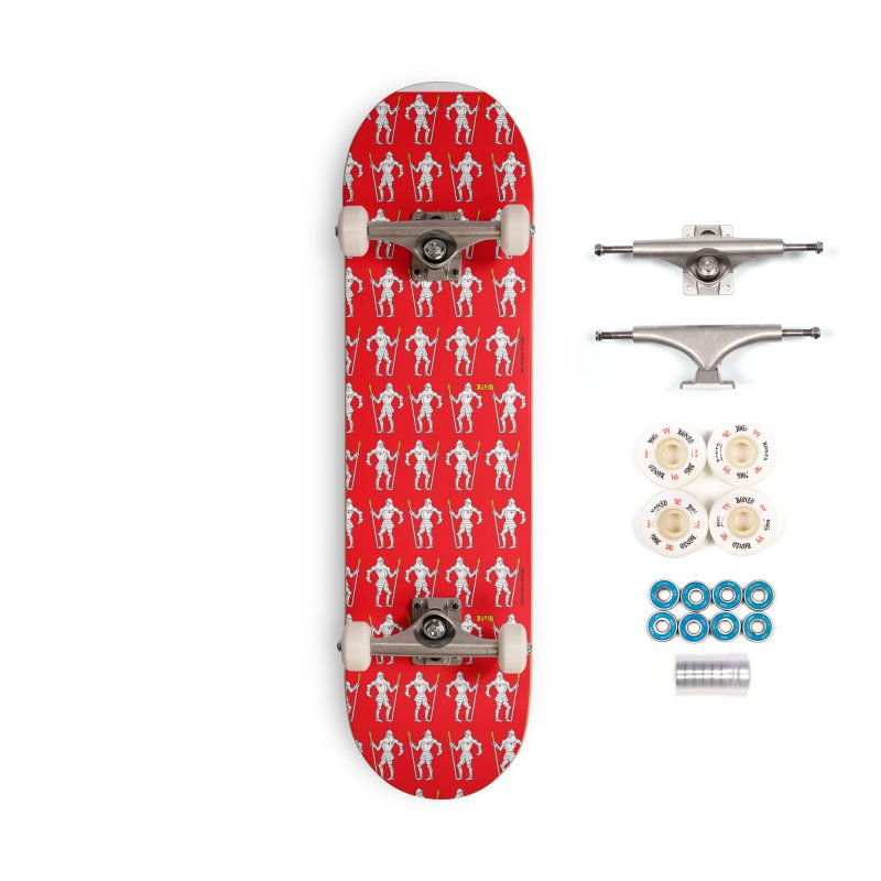 The Design Knight Accessories Complete - Premium Skateboard by falconlara.design shop