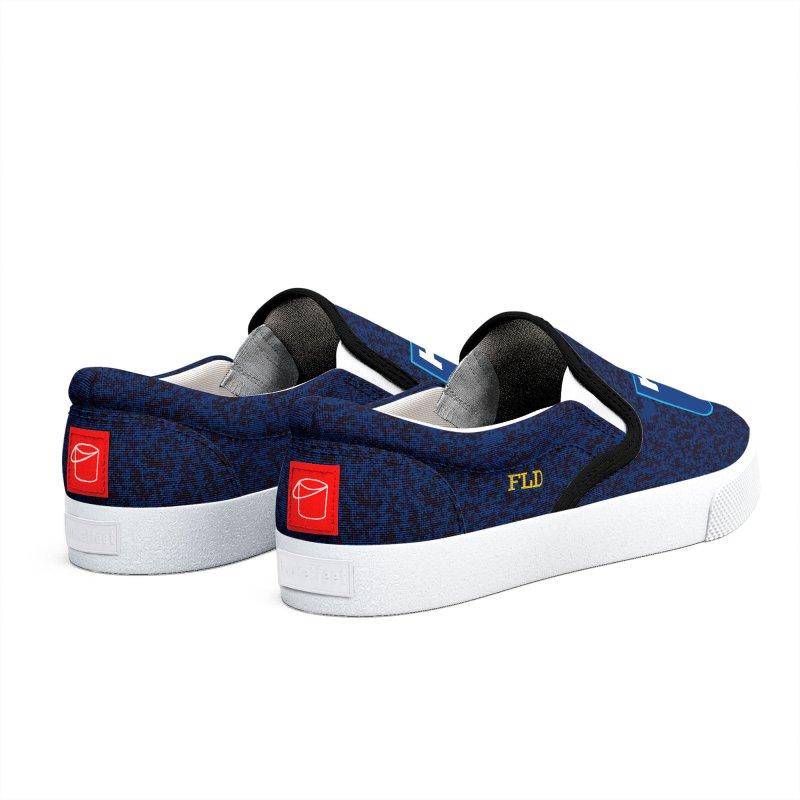 FLD Shoes Blue Men's Shoes by falconlara.design shop
