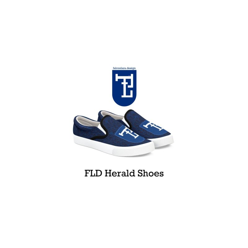FLD Shoes Blue   by falconlara.design shop