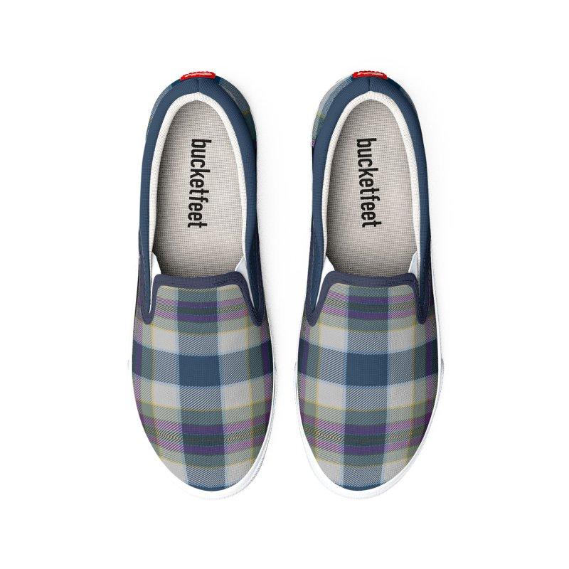FLD Tartan Shoes Men's Shoes by falconlara.design shop