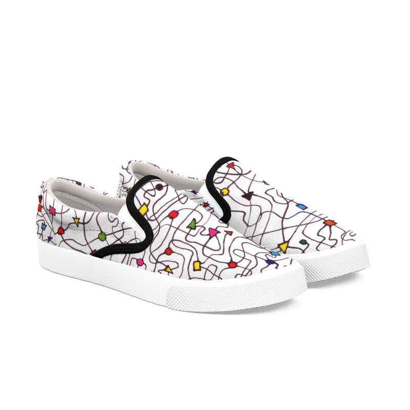 The Brain Shoes Women's Slip-On Shoes by falconlara.design shop