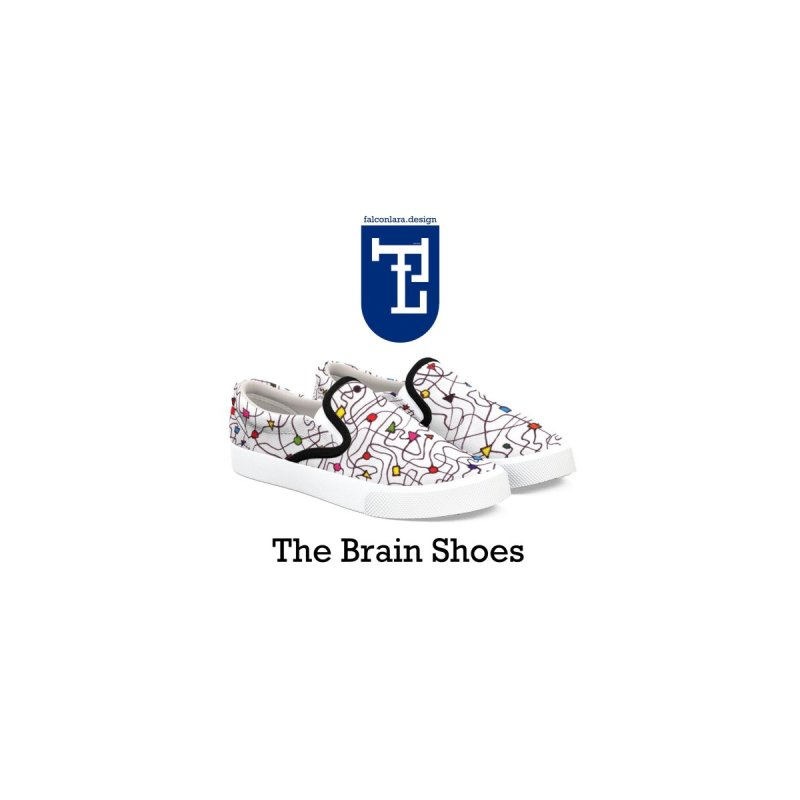 The Brain Shoes by falconlara.design shop