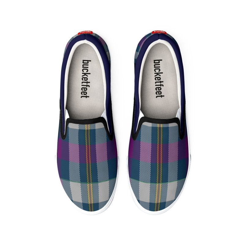 FLD Contemporary Tartan Shoes Men's Shoes by falconlara.design shop